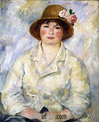 Renoir | Portrait of Madame Renoir, c.1885