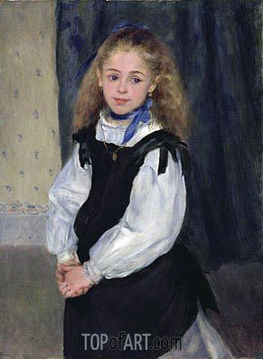 Portrait of Mademoiselle Legrand, 1875 | Renoir | Painting Reproduction
