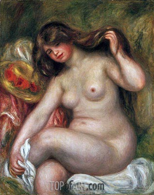 Large Bather, 1905 | Renoir| Gemälde Reproduktion