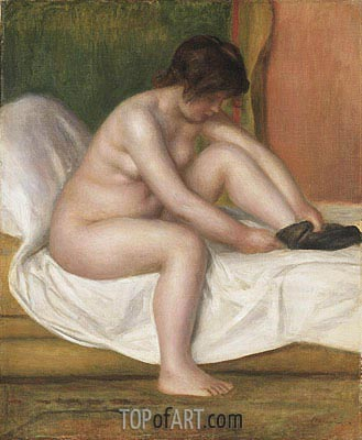 Nude, 1888 | Renoir | Painting Reproduction