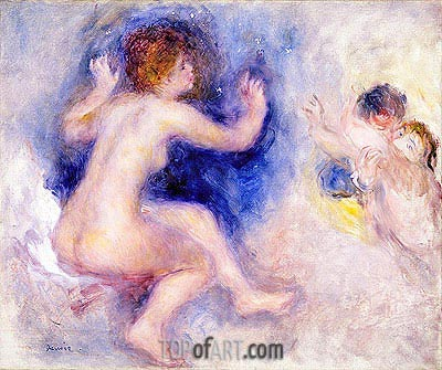 Tannhauser (Third Act), c.1879 | Renoir| Painting Reproduction