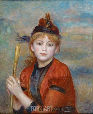 Rambler, 1895 | Renoir| Painting Reproduction