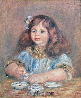 Genevieve Bernheim de Villers, 1910 | Renoir | Painting Reproduction