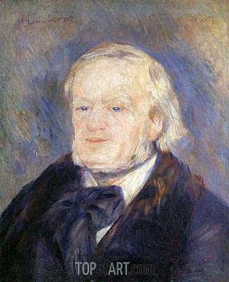 Richard Wagner, 1882 | Renoir | Painting Reproduction