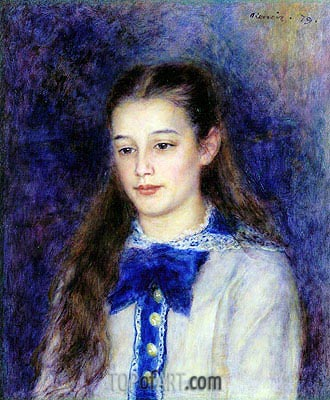 Therese Berard, 1879 | Renoir | Painting Reproduction