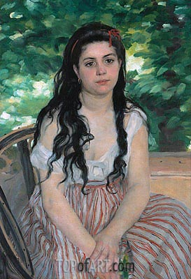 Summer, 1868 | Renoir | Painting Reproduction