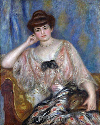 Misia Sert, 1904 | Renoir| Painting Reproduction