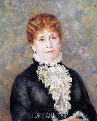Madame Eugene Fould, 1880 | Renoir| Painting Reproduction