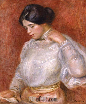 Graziella, 1896 | Renoir| Painting Reproduction
