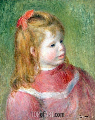 Portrait of Jean, c.1897 | Renoir| Painting Reproduction