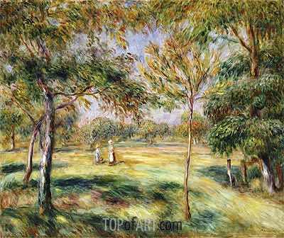 The Glade, 1895 | Renoir| Painting Reproduction