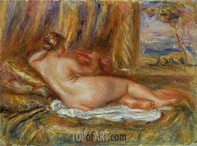 Reclining Nude, 1914 | Renoir | Painting Reproduction