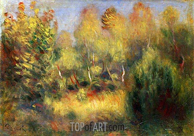 The Glade, undated | Renoir | Painting Reproduction