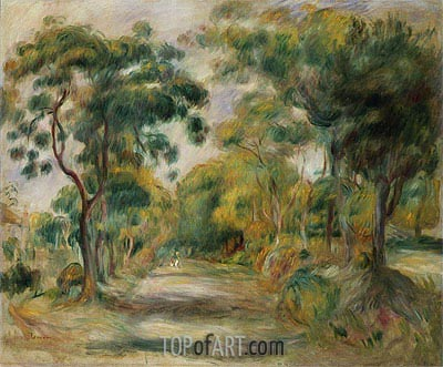 Landscape at Noon, 1900 | Renoir | Painting Reproduction