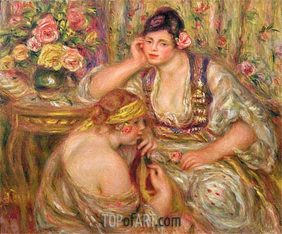The Concert, c.1918/19 | Renoir | Painting Reproduction