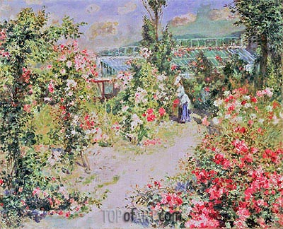 The Conservatory, undated | Renoir | Painting Reproduction