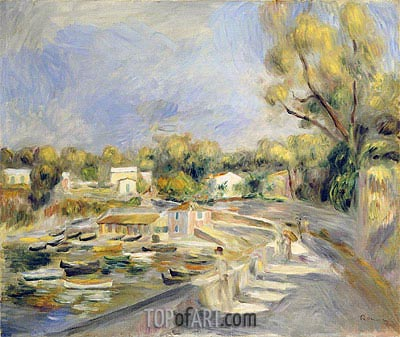 Cagnes Countryside, undated | Renoir | Painting Reproduction