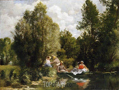 La Mare aux Fees, undated | Renoir| Painting Reproduction