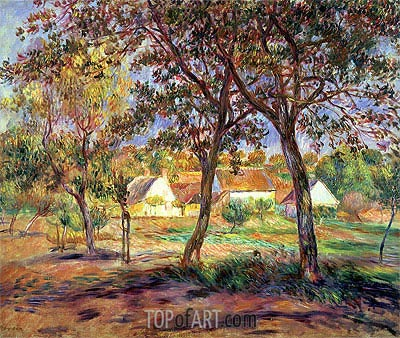 The Outskirts of Pont-Aven, c.1888/90 | Renoir| Painting Reproduction
