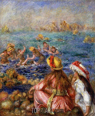 The Bathers, 1892 | Renoir| Painting Reproduction