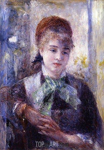 Renoir | Portrait of Nini Lopez, 1876