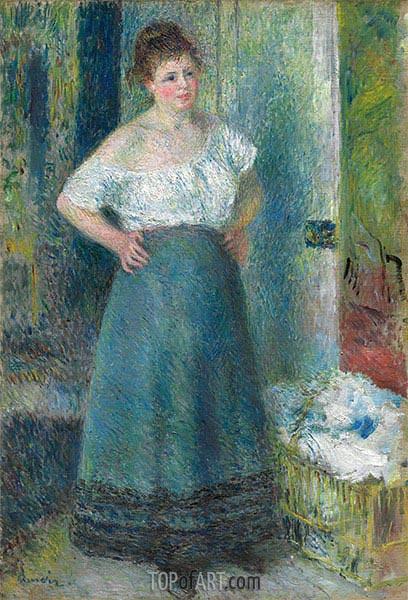 Renoir | The Laundress, c.1877/79