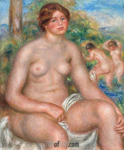 Renoir | Seated Bather, 1914