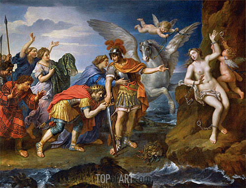 Pierre Mignard | Deliverance of Andromeda, 1679