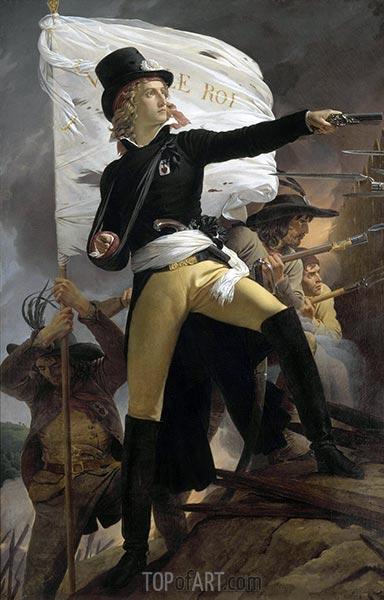 Henri Duverger, comte de la Rochejaquelein, c.1816/17 | Pierre-Narcisse Guérin | Painting Reproduction