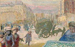 Morning in Paris, 1911 by Pierre Bonnard | Painting Reproduction