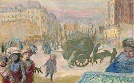Morning in Paris, 1911 von Pierre Bonnard | Gemälde-Reproduktion