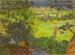 Landscape, Undated von Pierre Bonnard | Gemälde-Reproduktion