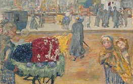 Evening in Paris | Pierre Bonnard | outdated