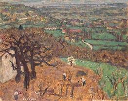 Dauphine Landscape, c.1899 von Pierre Bonnard | Gemälde-Reproduktion