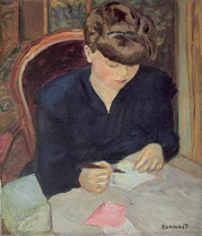 The Letter, c.1906 by Pierre Bonnard | Painting Reproduction