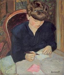 The Letter, c.1906 von Pierre Bonnard | Gemälde-Reproduktion