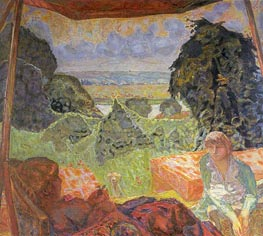 Summer in Normandy, c.1912 by Pierre Bonnard | Painting Reproduction