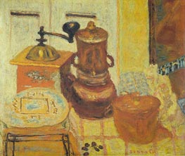 The Coffee Mill | Pierre Bonnard | Painting Reproduction
