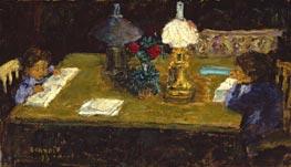 Interior The Terrasse Children   Pierre Bonnard   Painting Reproduction