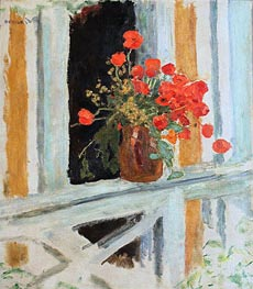 The Poppies, 1912 by Pierre Bonnard | Painting Reproduction