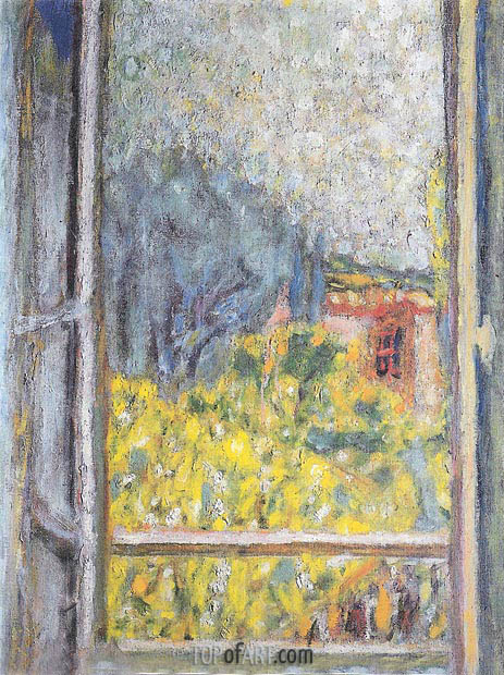 Pierre Bonnard | The Small Window (La Petite fenetre), 1946