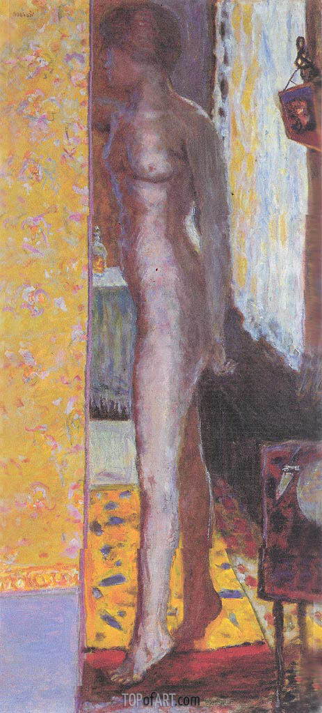 Standing Nude, 1920 | Pierre Bonnard | Painting Reproduction