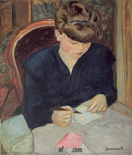 Pierre Bonnard | The Letter, c.1906