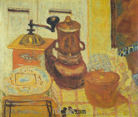 The Coffee Mill, 1930 | Pierre Bonnard | Gemälde Reproduktion