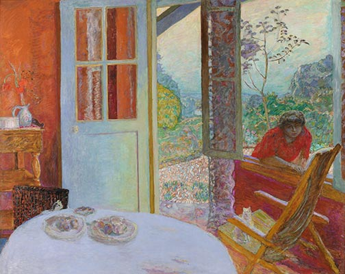 Pierre Bonnard | Dining Room in the Country, 1913
