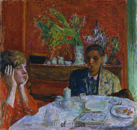 Pierre Bonnard | The Dessert (After Dinner), c.1920