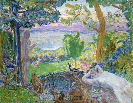 Pierre Bonnard | Earthly Paradise, 1920