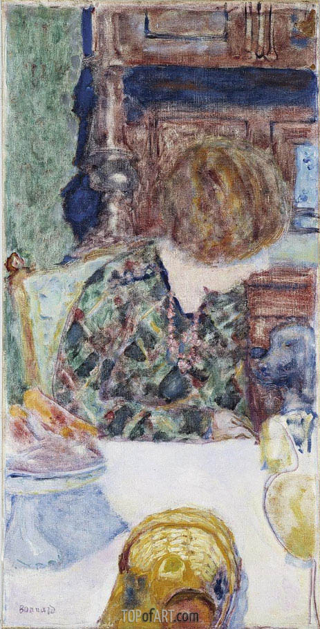 Pierre Bonnard | Woman with Dog, 1924