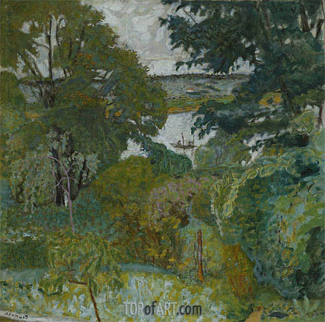 Pierre Bonnard | The Seine at Vernon, 1925
