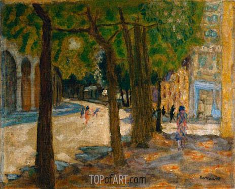 Pierre Bonnard   Boulevard Exelmans, Paris, 1925